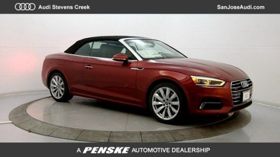 Convertible 2018 Audi A5 20t Premium Plus Cabriolet With 2 Door In