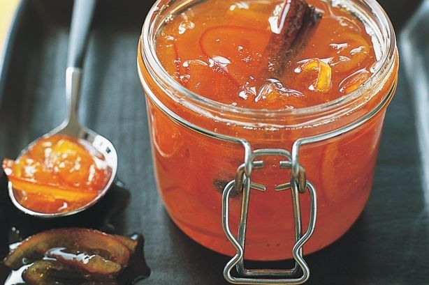 A traditional condiment of marmalade is made new with the citric character of tangelo. Allow 6 hours or overnight infusing plus 5 mins cooling time. You'll need a 10cm piece of muslin for this recipe.