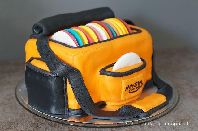 Discgolf cake