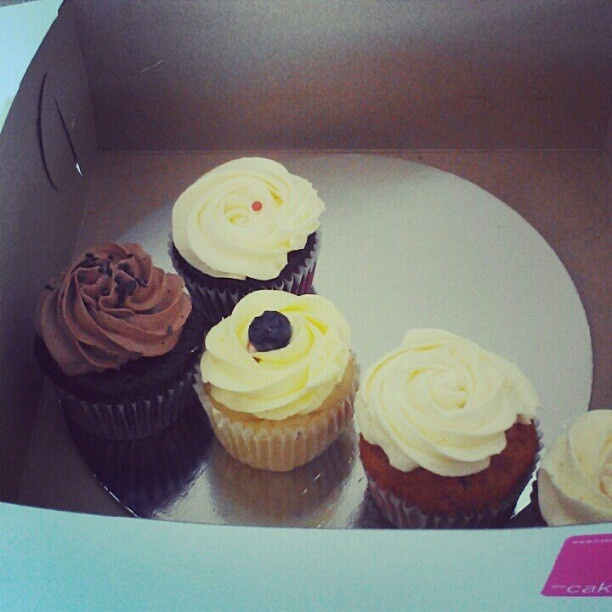 It's all about cupcakes at TribeHR. These are for an employee birthday!