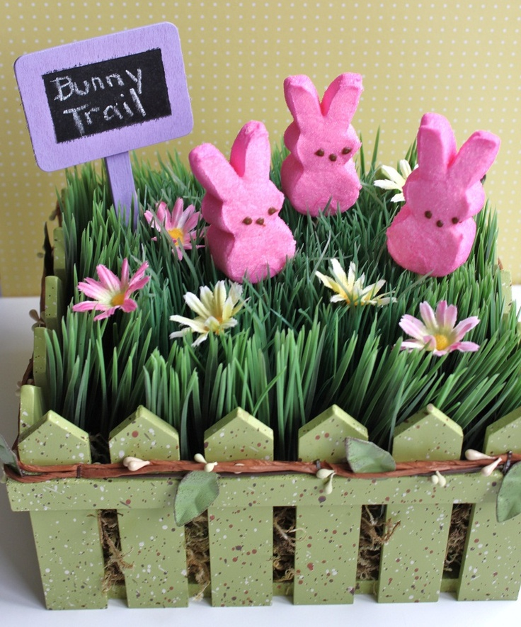 Easter centerpiece diy