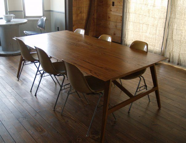 mid century dining table dinning room and chairs diy mcm round canada