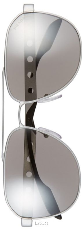 Prada 'Machine' 60mm Polarized Aviator | LOLO