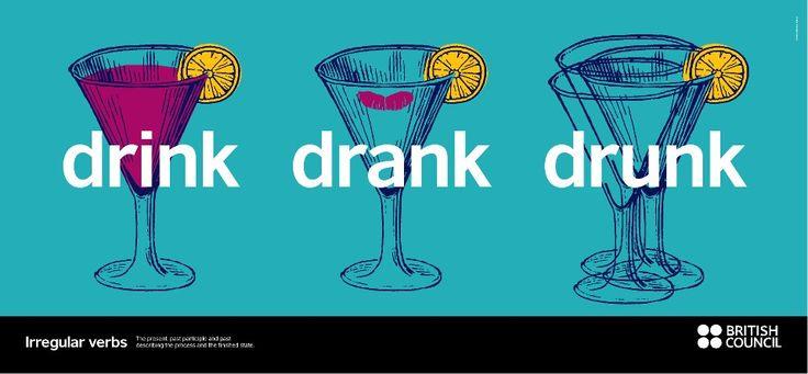 Napi angol: rendhagyó igék – drink