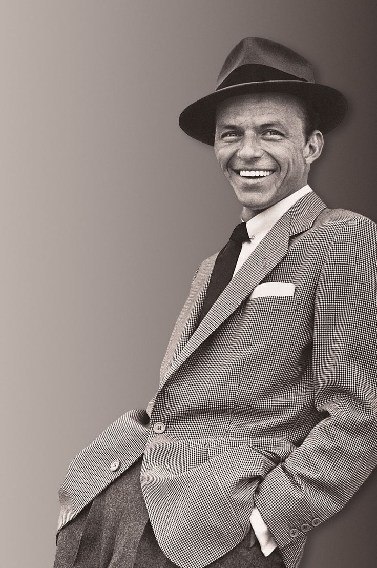"""""""May you live to be 100 and may the last voice you hear be mine."""" Frank Sinatra (December 12, 1915 – May 14, 1998)"""