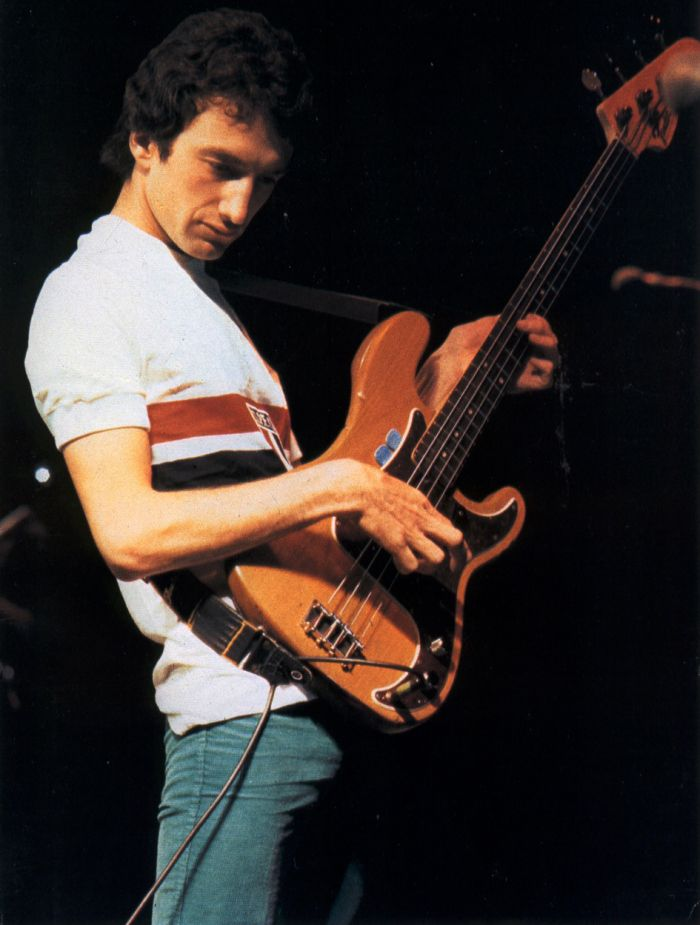 1981 John Deacon Live a San Paulo| Queen Photos