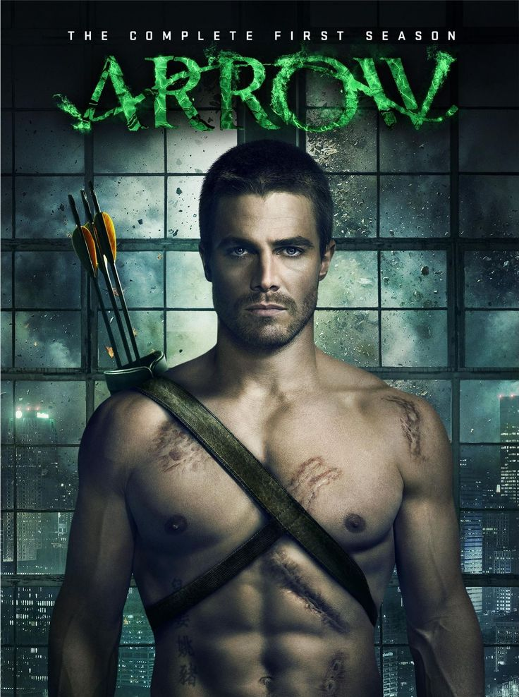 arrow dvd - season one and two