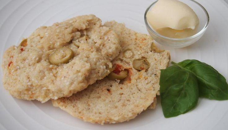 Recept: Microbröd med oliver LCHF – Glutenfritt bröd