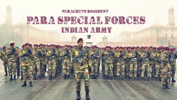 Para Special Forces Indian Army