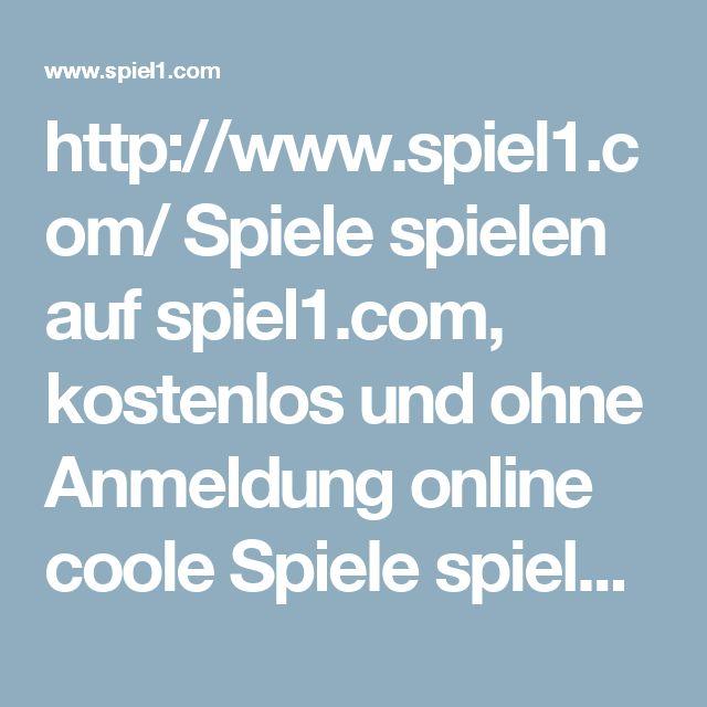 http://www.spiel1.com/  Spiele spielen auf spiel1.com, kostenlos und ohne Anmeldung online coole Spiele spielen! Mehr als 1001 internet Spiele zu spielen auf Jetzt Spielen.  #online #spiel