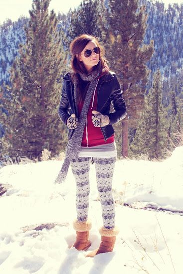 What I Wore Wed-nes-day: Winter Leggings - Katie Did What
