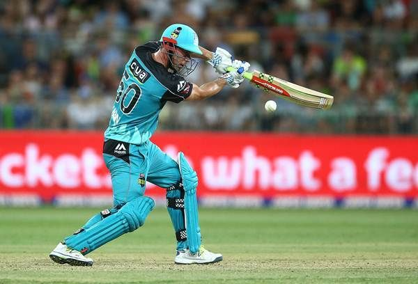 Chris Lynn expected to make his BBL return against Sydney Thunder at the Gabba