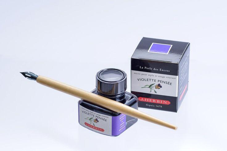 J.Herbin 13046T - Tinta para pluma estilográfica (30 ml), color marrón café: Amazon.es: Oficina y papelería