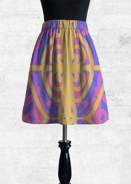 Cupro Skirt - night dream by VIDA VIDA Shopping Cheap Sale Inexpensive Discount Low Price bSEP7vQ