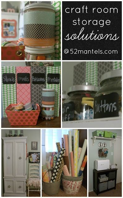 52 Mantels: Combined Craft Room & Guest Room