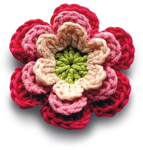 Mollie Makes Tutorial Tuesday: Crochet flowers