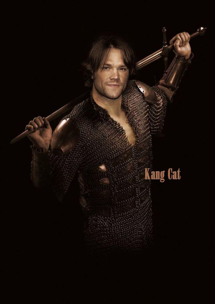Jared Padalecki: Knight by Kang-Cat.deviantart.com on @DeviantArt