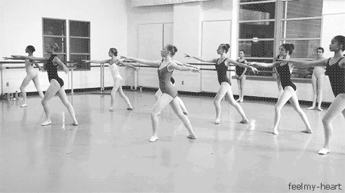 """""""I can't, I have dance,"""" isn't just an excuse -- we're never going to skip class to go to the movies."""