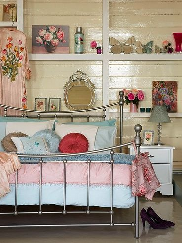 My Modern Vintage - Australian Vintage and Personal Style Blog: Weekly Addiction: Shabby Chic Bedrooms