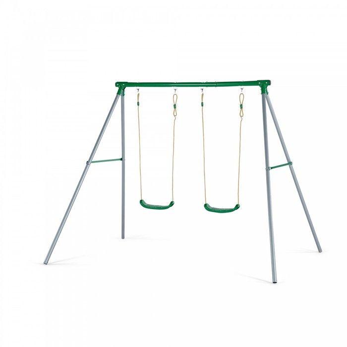 Plum Sedna Metal Double Swing Set. Available at Kids Mega Mart online Shop Australia