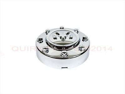 auto parts - general: 11-17 Dodge Ram 3500 W/ Dually Wheels Front Chrome Center Hub Cap Oem New Mopar BUY IT NOW ONLY: $93.58