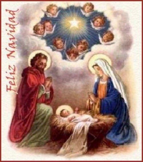 Feliz Navidad Clipart Portal de Belen