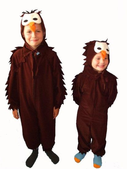 Uil kostuum voor kinderen #uil #uilpak #uilkostuum #vogelpak