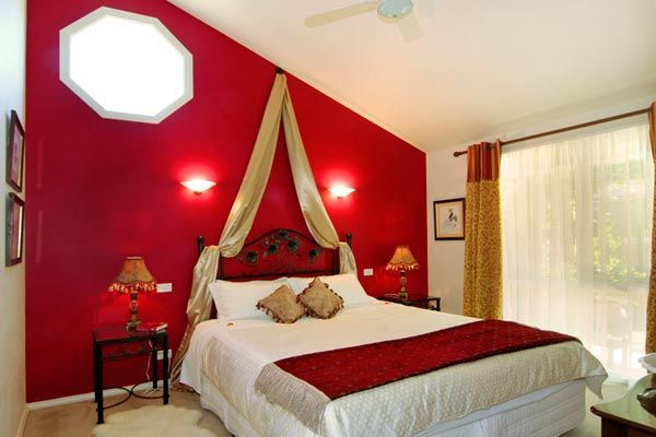Always wanted my bedroom to be painted red. I have seen a couple of bedrooms that have this same idea. Only painting the wall red that has your bed to it and the rest of the walls in the room stay white or off white. I think I like this idea. Clean and simple.