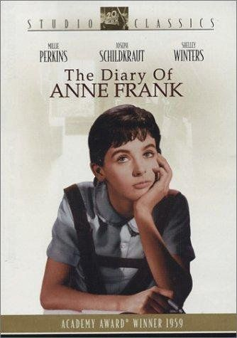 The Diary of Anne Frank - based on the book, Anne Frank: the diary of a young girl / HU DVD 8690 / Book: D810.J4 F715 1952 http://catalog.wrlc.org/cgi-bin/Pwebrecon.cgi?BBID=7515357