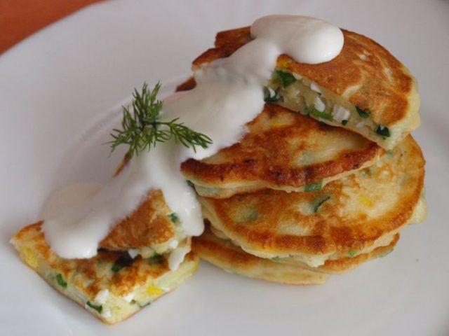 Vajíčkové lievance
