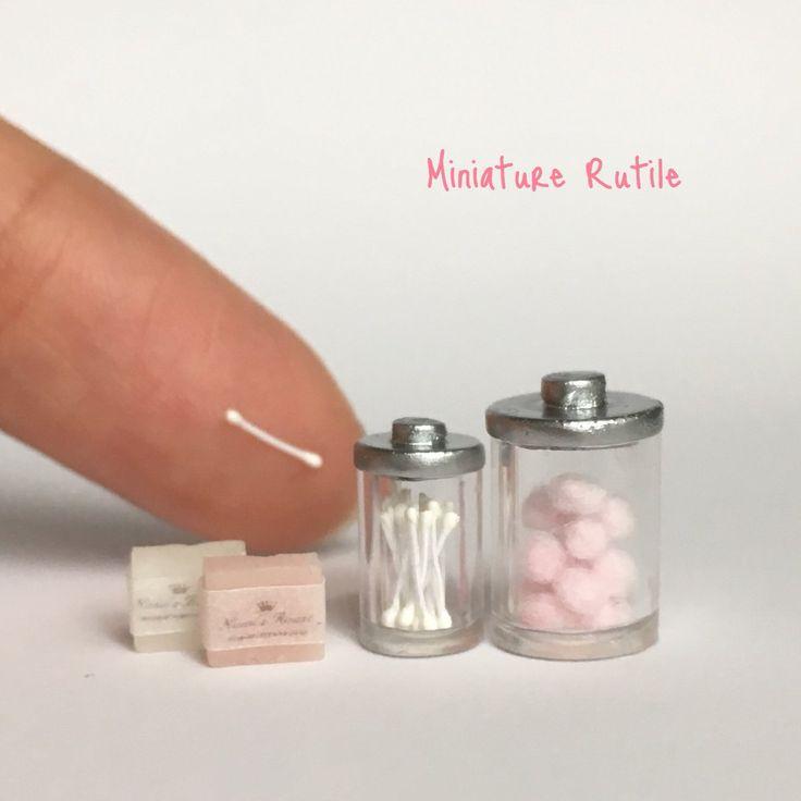 Miniature bathroom ♡♡ by Miniature Rutile