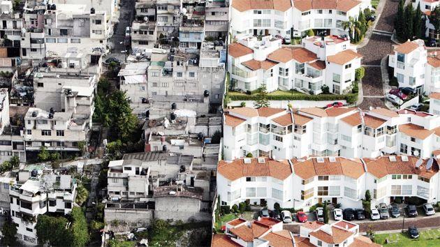 México: fotografías aéreas muestran abismal división entre ricos y pobres – RT