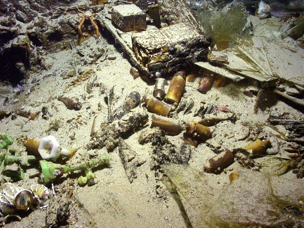 Religious Artifacts on the SS Republic Shipwreck Site