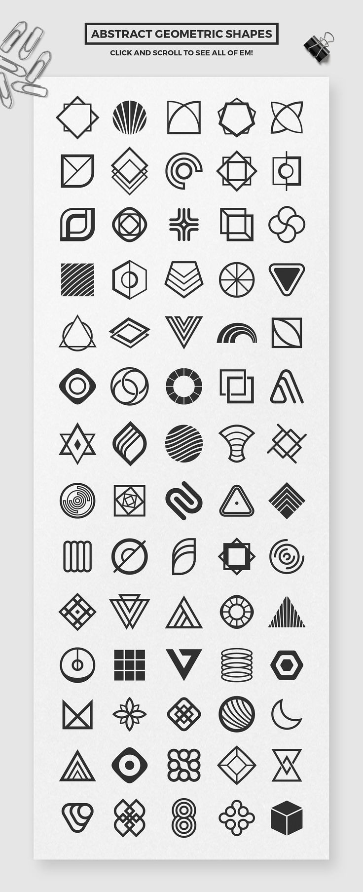 Geometric Branding Pack by Tugcu Design Co. on Cre…