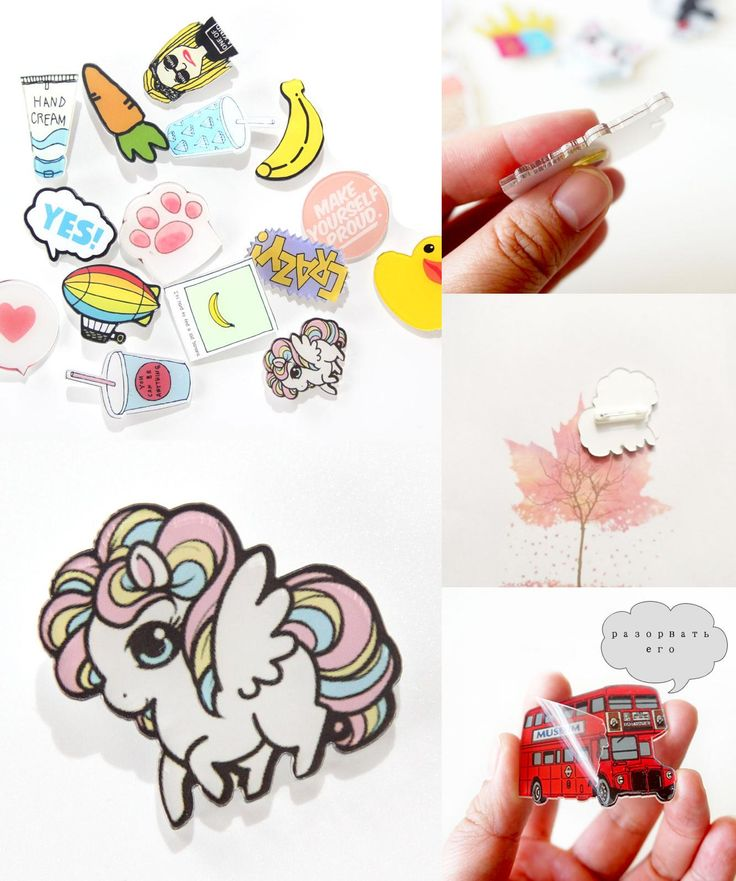 [Visit to Buy] 1 PCS Icons on The Backpack Acrylic Badges Free Shipping Badges for Clothing Kawaii Badge Icon Pin Brooch #Advertisement