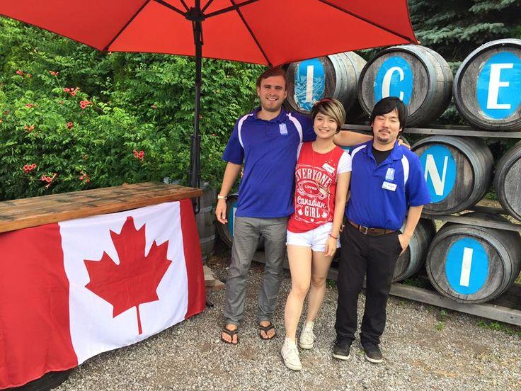 Davis, Evelyn and Kazu on Canada Day 2016