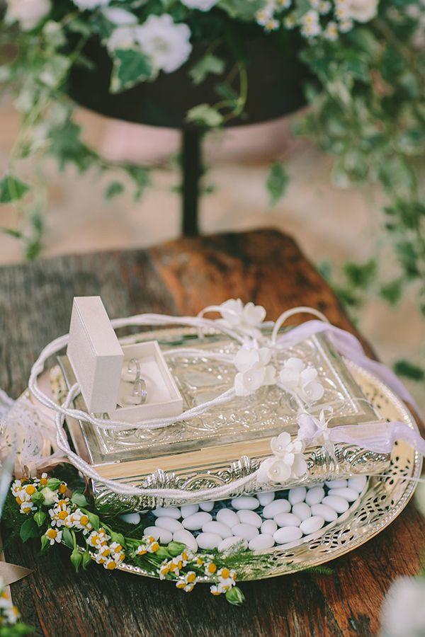 Ρομαντικος γαμος στο Κτημα Κοκοτου |Χρυσα & Γιωργος - Love4Weddings
