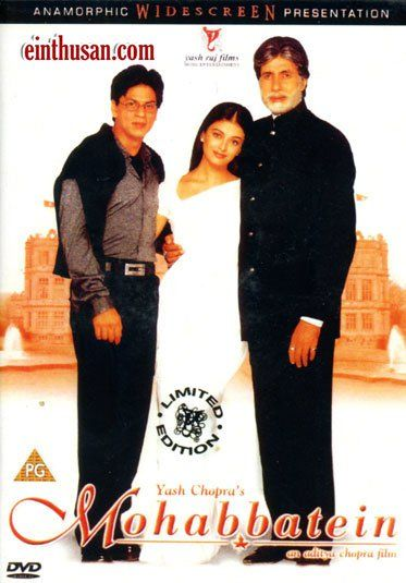 Mohabbatein Hindi Movie Online - Amitabh Bachchan, Shahrukh Khan, Aishwarya Rai and Uday Chopra. Directed by Aditya Chopra. Music by Jatin-Lalit. 2000 [U] Blu-Ray w.eng.subs