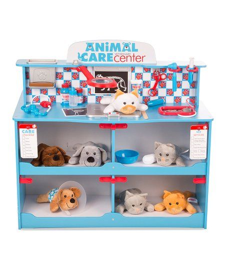 The Aspiring Vet Tech In Your Life Can Ensure All Their Plush Pets Are Looking And Feeling Their Best With This Set Th Animals For Kids Pets Inspirational Toys