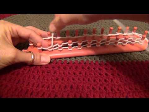How to E Wrap on the Knifty Knitter Looms Knifty Knitter Pinterest Patr...