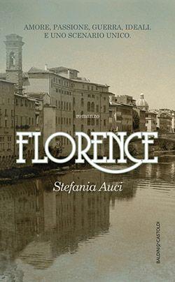 Romanzo storico ambientato tra il Chianti e Firenze scossa dai venti della Prima Guerra Mondiale, Florence è un grande feuilleton che unisce grandi temi come passione, guerra e ideali a una ricostruzione storica e ambientale di grande impatto.