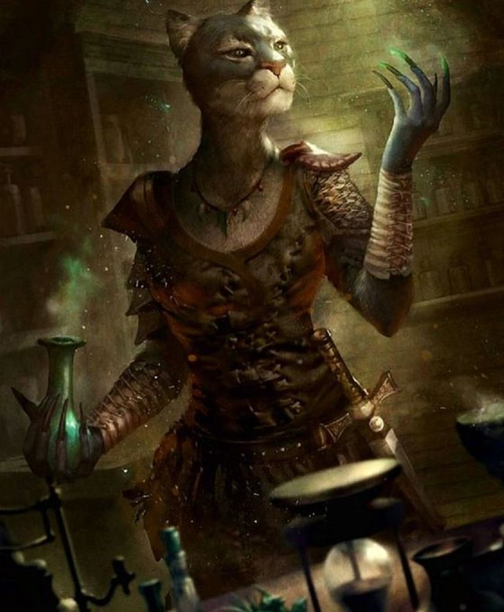 Female Khajiiit Alchemist