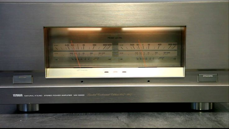 Yamaha MX-10000 Centennial edition power amplifier. Very rare amplifier made in the late 80's (the amp in the video is an original 220V version). The Centenn...