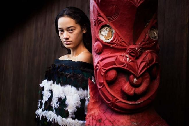 Maori Temple, New Zealand  30 Stunning Pictures Showing Beautiful Women From All Around The World • Page 5 of 6 • BoredBug