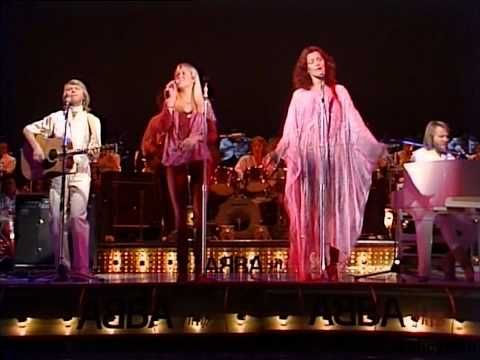 SOS, ᗅᗺᗷᗅ, 1978, Japan .. great performance.. crazy little interview with Anni-Frid and Agnetha.