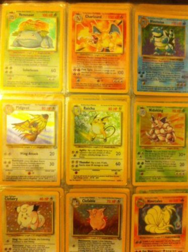 ORIGINAL POKEMON CARD LOT!!! 100s OF CARDS INCLUDING * 41 HOLOS *