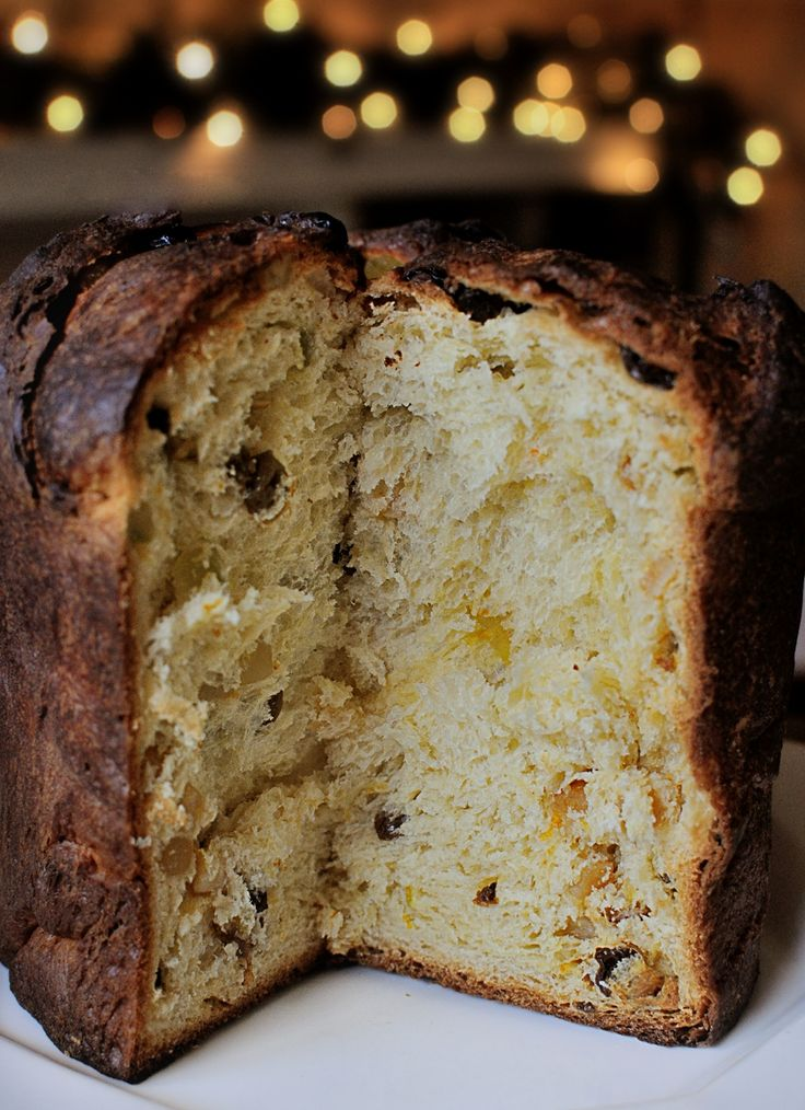 Sure it might be traditional for Christmas...but in my world fantastic anytime...this is my very first Panettone and it was so light it almost levitated!  Recipe from Carol Field's Italian Baker!