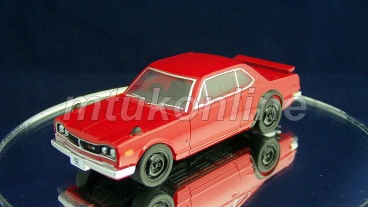 TAKARA SILHOUETTE 9 NISSAN SKYLINE GT-R 1970 | C10 | 1/64 | HOT RED