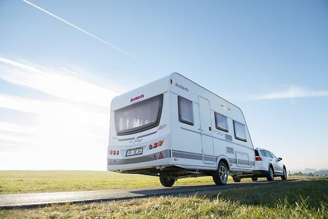 Der Allgäuer Hersteller Dethleffs präsentiert auf der Freizeitmesse CMT die neue Caravan-Baureihe C'Joy.