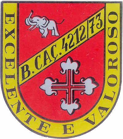 3ª Companhia de Caçadores do Batalhão de Caçadores 4212/73 Angola